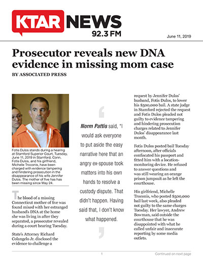 Prosecutor reveals new DNA evidence in missing mom case