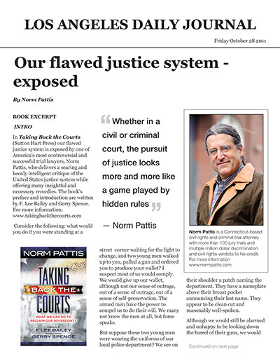 Our Flawed Justice System - Exposed