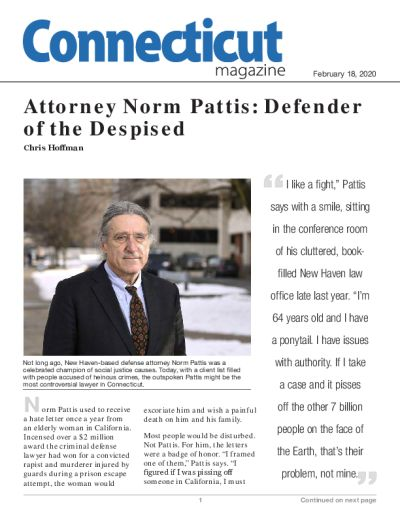 Attorney Norm Pattis: Defender of the Despised