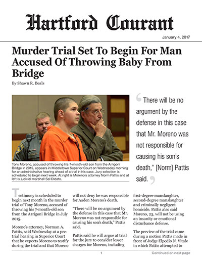 Murder Trial Set To Begin For Man Accused Of Throwing Baby From Bridge