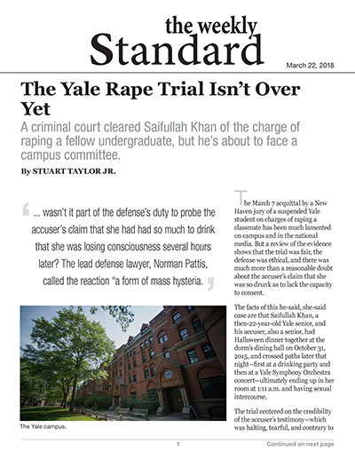 The Yale Rape Trial Isn't Over Yet