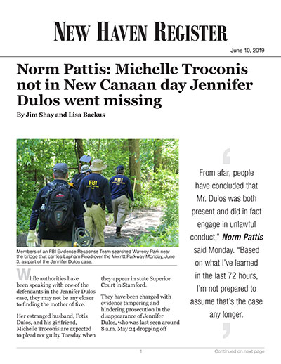 Norm Pattis: Michelle Troconis not in New Canaan day Jennifer Dulos went missing