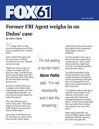 Former FBI Agent weighs in on Dulos' case