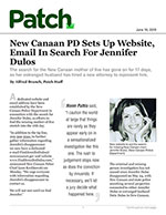 New Canaan PD Sets Up Website, Email In Search For Jennifer Dulos