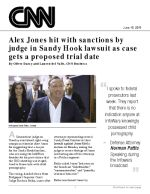 Alex Jones hit with sanctions by judge in Sandy Hook lawsuit as case gets a proposed trial date