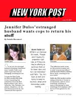Jennifer Dulos' estranged husband wants cops to return his stuff