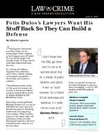 Fotis Dulos's Lawyers Want His Stuff Back So They Can Build a Defense