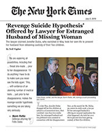 'Revenge Suicide Hypothesis' Offered by Lawyer for Estranged Husband of Missing Woman