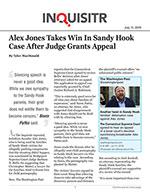 Alex Jones Takes Win In Sandy Hook Case After Judge Grants Appeal