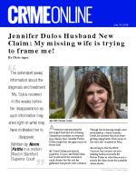 Jennifer Dulos Husband New Claim: My missing wife is trying to frame me!