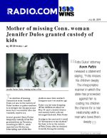 Mother of missing Conn. woman Jennifer Dulos granted custody of kids