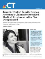 Jennifer Dulos' Family Denies Attorney's Claim She Received Medical Treatment After She Disappeared
