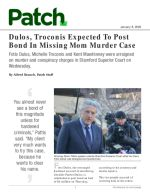 Dulos, Troconis Expected To Post Bond In Missing Mom Murder Case