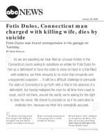 Fotis Dulos, Connecticut man charged with killing wife, dies by suicide