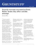 Search warrant executed at Fotis Dulos' home day after suicide attempt