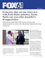 Exclusive: One-on-one interview with Fotis Dulos attorney, Norm Pattis one year after Jennifer's disappearance