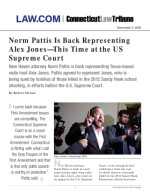 Norm Pattis Is Back Representing Alex Jones–This Time at the US Supreme Court