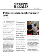 Defense rests in sneaker murder  trial