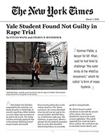 Yale Student Found Not Guilty in Rape Trial