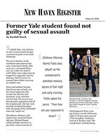 Former Yale student found not guilty of sexual assault