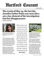 The events of May 24, the last day Jennifer Farber Dulos was seen alive, are a key element of the investigation into her disappearance