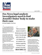 Fox News legal analyst: Investigators need to find Jennifer Dulos' body to make their case