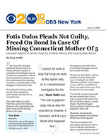 Fotis Dulos Pleads Not Guilty, Freed on Bond In Case of Missing Connecticut Mother of 5