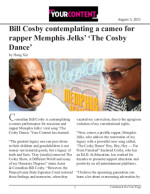 Bill Cosby contemplating a cameo for rapper Memphis Jelks' 'The Cosby Dance'